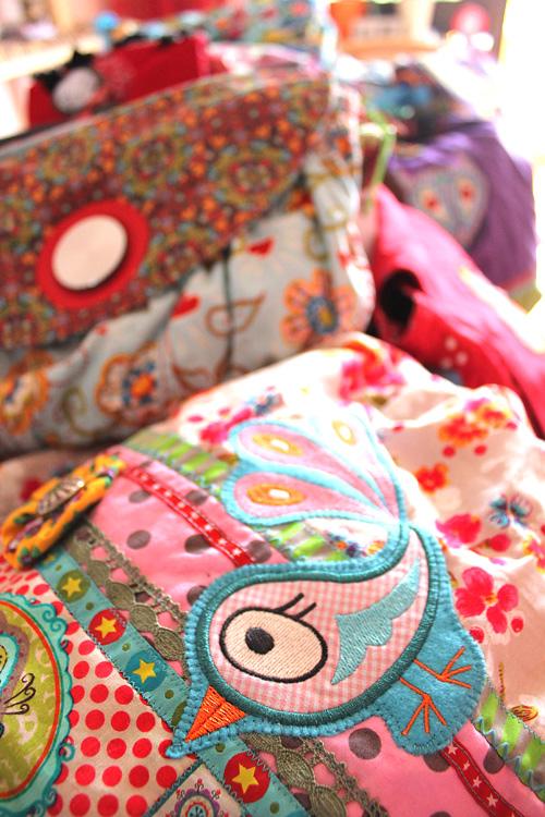 Designertaschen selber machen mit Anleitungen von farbenmix
