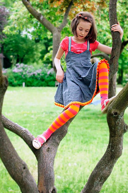 Kleidchen nach dem Schnittmuster MALIBU von farbenmix selber nähen