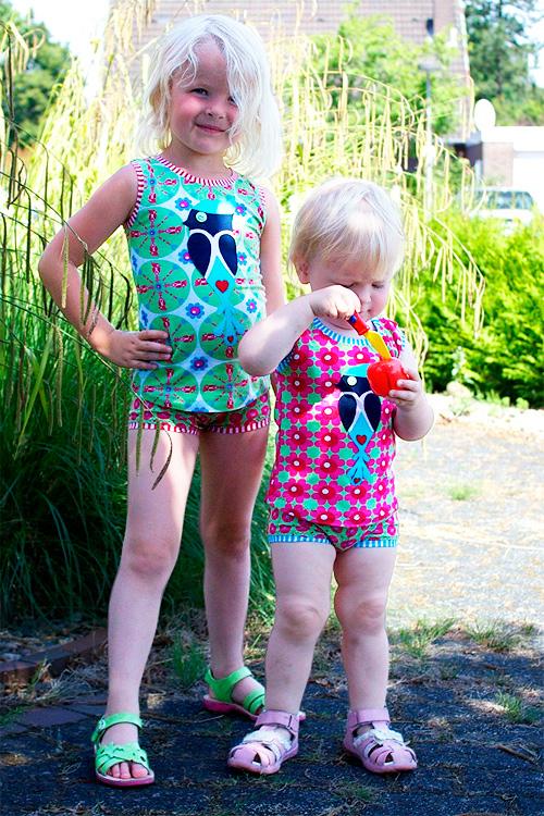 Unterwäsche, Wäsche, Hemdchen, Shirt, Shorts, Unterhose, Unterhemd Anleitung Schnittmuster farbenmix