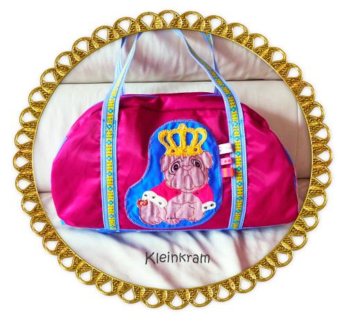 Handtasche bunt Schnittmuster farbenmix Taschenspieler-CD König selber nähen