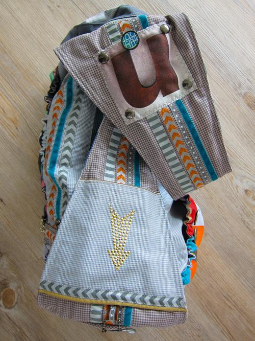 Webbänder zum Aufpeppen von Taschen und Mode