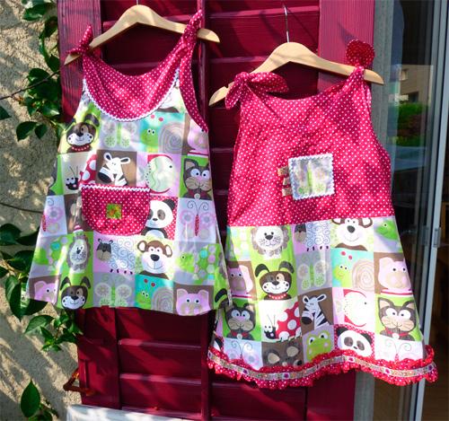 Nähanfänger Nähen lernen Schnittmuster Anleitung Kleidchen Kleid Leggins selber nähen