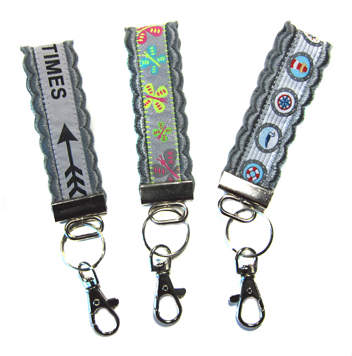 Schlüsselanhänger als Geschenk, für den Basar oder als Mitbringsel selber basteln