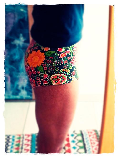 Speedy Shorts Frauen Unterwäsche Hotpants Anleitung Tutorial Schnittmuster farbenmix