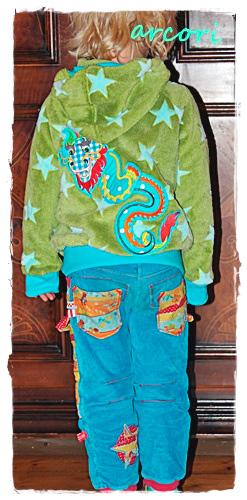 Sweatjacke Pulloverjacke Trainingsjacke Kuscheljacke Jungs Mädchen farbenmix selber nähen