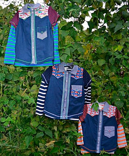 Einschulungshemd Hemd Bluse Schnittmuster Jungs Mädchen farbenmix selber nähen