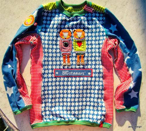 Shirt Oberteil Pullover Mädchen Schnittmuster Anleitung farbenmix selber nähen