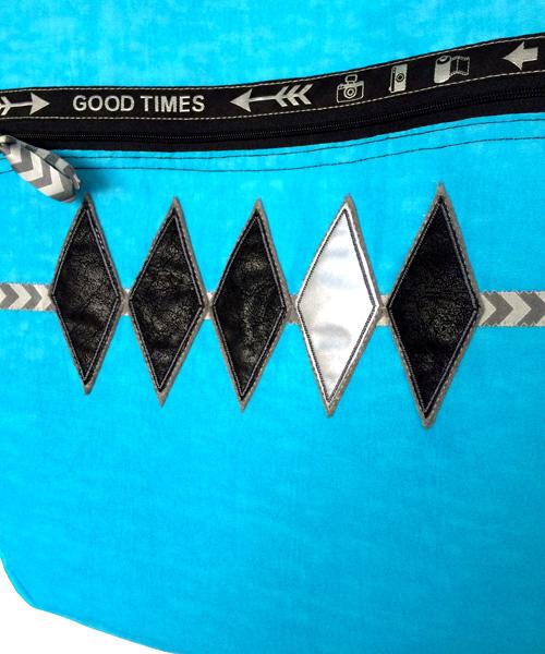 stylische Motive für Taschen, Webband