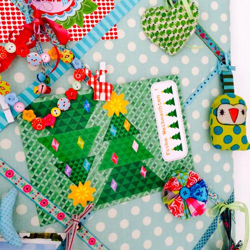 Selbermachen: Weihnachtspostkarte