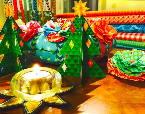 Näh dir deinen Weihnachtsbaum, Adventsdeko selbermachen