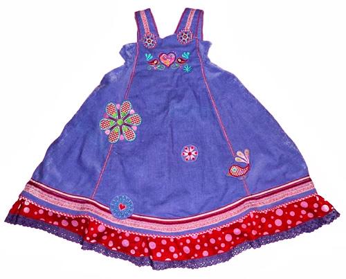 Kleid nach dem Schnittmuster GESKE von farbenmix selber nähen