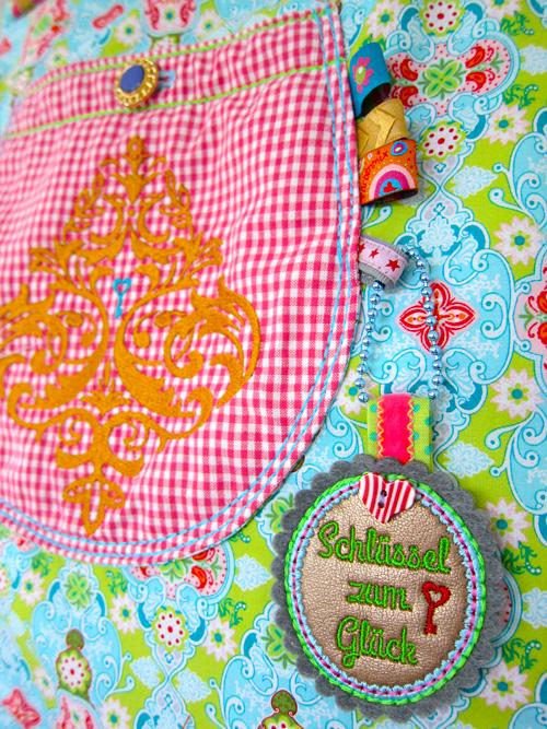 Ornamente zum Stiken und Verzieren von Taschen