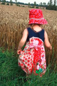 Sommer-Kleid nach dem Schnittmuster ROSALIE von farbenmix selber nähen