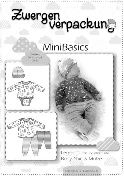 Babysachen selber nähen farbenmix