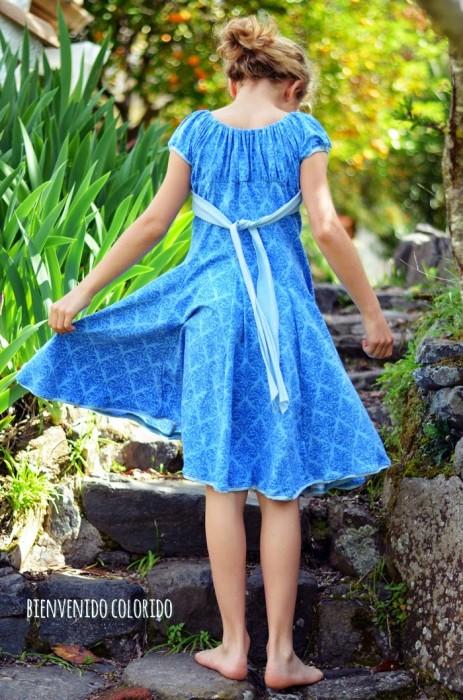 Kleid selber nähen farbenmix