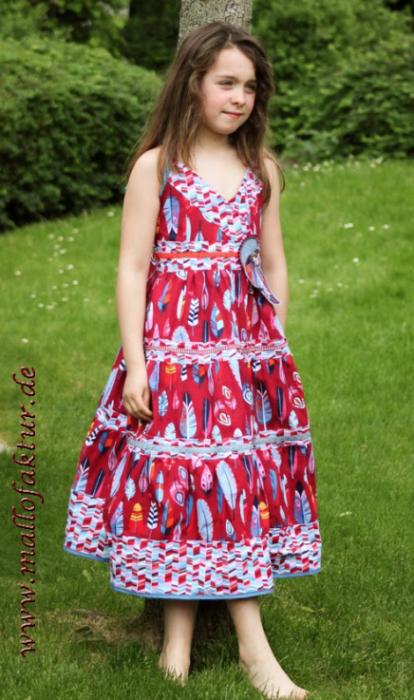 Kleid selber nähen Schnittmuster