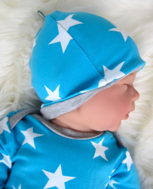 Babymütze selber nähen Anleitung