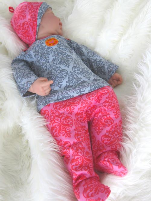 Nähanleitung Nähanfänger Babykleidung