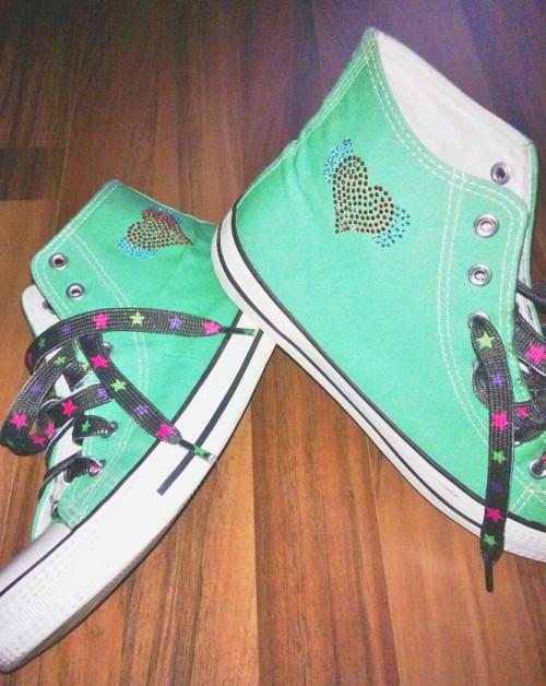 Schuhe selber verzieren