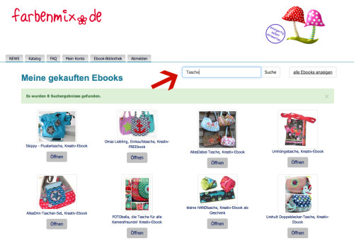 farbenmix Anleitungen Nähen Download