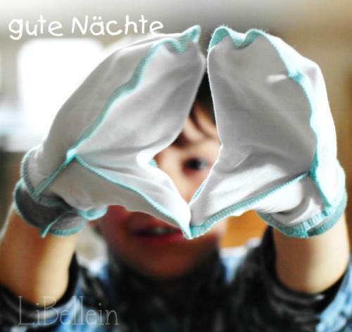 Handschuhe Neurodermitis selber nähen