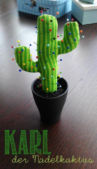 Nadelkissen Kaktus