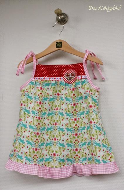 Kleid Zwergenverpackung 1 farbenmix das Königskind