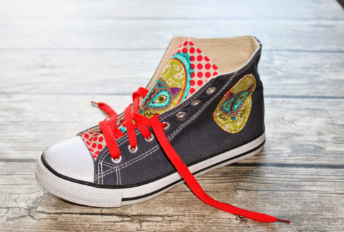 Schuhe aufpimpen Anleitung