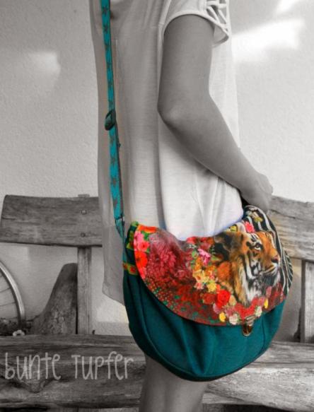 Taschen Schnittmuster DAME farbenmix
