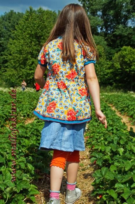 Bluse mit Kapuze Rosita