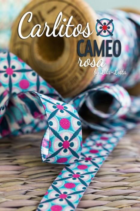 Carlitos Webband Cameo rosa