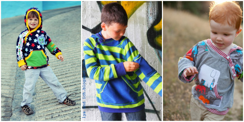 GONZALO farbenmix Herbstkollektion 2014 JungenSweater