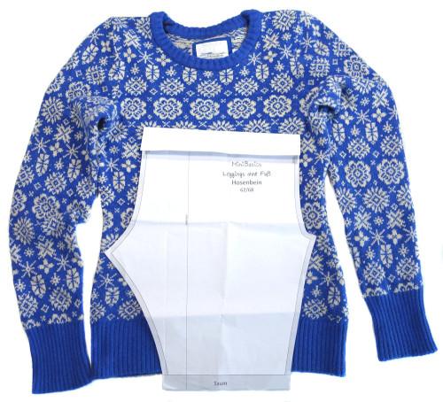 Babykleidung aus alten Pullovern