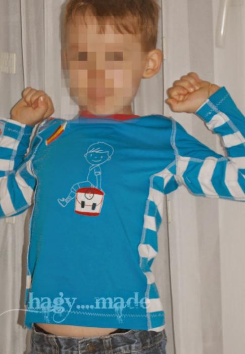 Hilde Shirt für Jungs