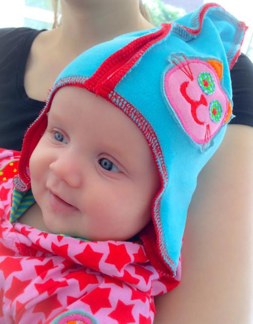 Mützen für Babys nähen