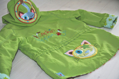 Zacko Schnittmuster Parka für Kinder