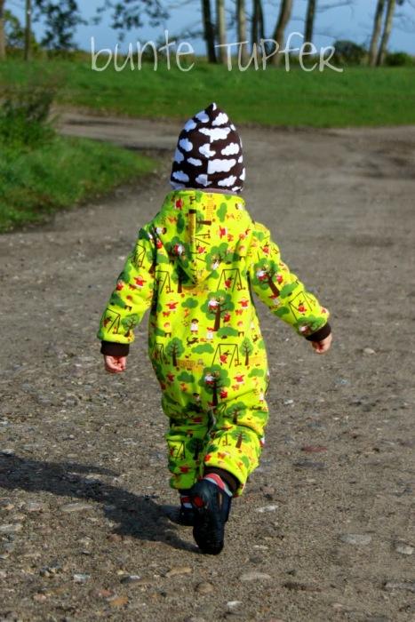 Babyoverall selber nähen Schnittmuster farbenmix