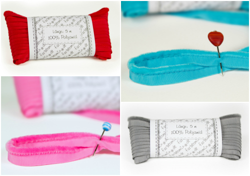 Paspelband alle vier Farben farbenmix