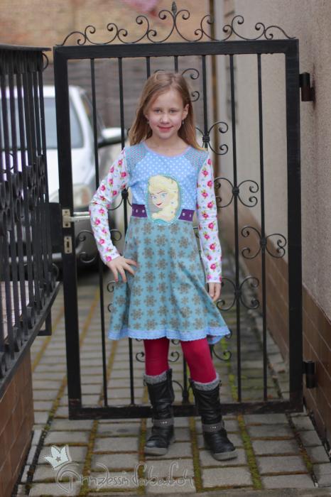 Antonia als Kleid Schnittmuster farbenmix