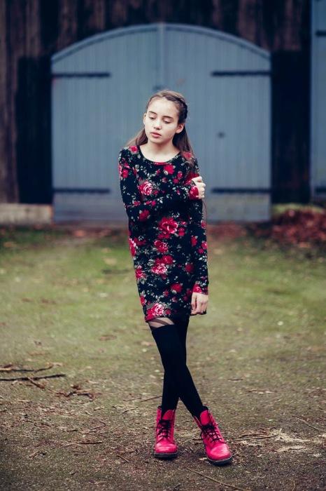 Blogisabellewistuba.de hannapurzel Antonia als Kleid Schnittmuster farbenmix