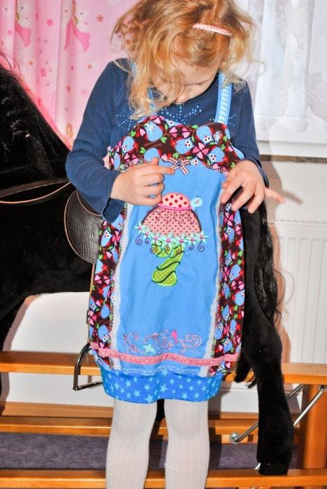 Estelle Überziehkleid Hängerchen selber nähen Winterkleid farbenmix