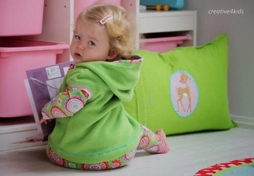 Kuschelkleidung für die Kleinsten Schnittmuster Babys farbenmix