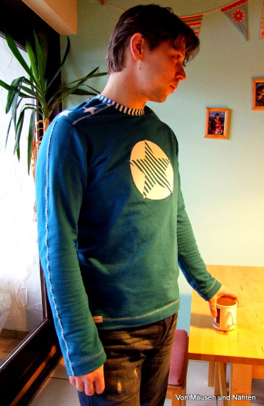 Männershirt nähen Föhr farbenmix