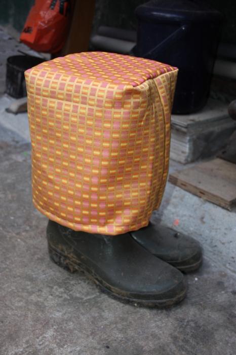 Stiefelhaube nähen 2