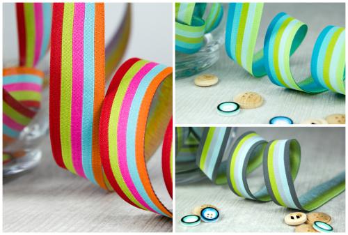 farbenmix stripes Webbänder ribbons