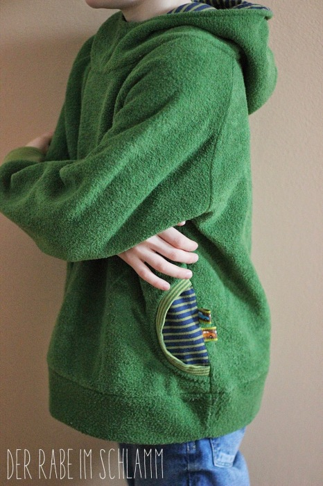 Danai Kuschelpulli farbenmix Nähen für Jungs