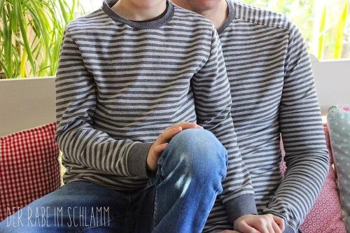 Föhr und Tomboy Nähen für Jungs Schnittmuster farbenmix