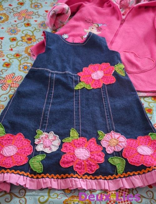 Lilly Kleid farbenmix Nähen