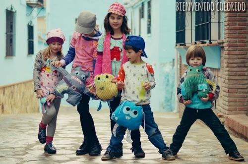 Monsterstoffe BestBuddy BestFriend Monsterchen farbenmix 2