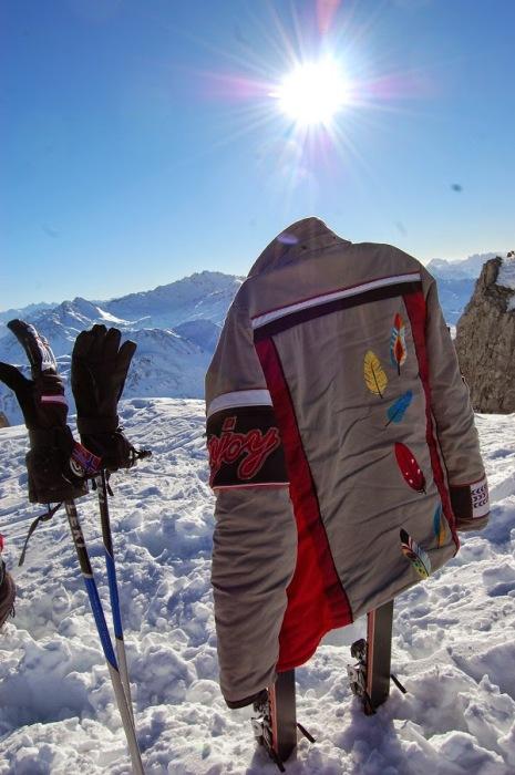 Skijacke selber nähen